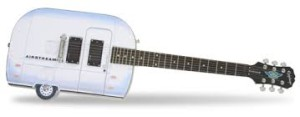 An Epiphone Airstream Guitar like Jeff's