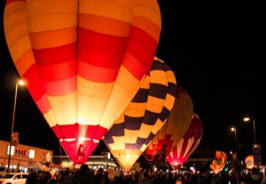 """Balloon Glow"" in Page, AZ"