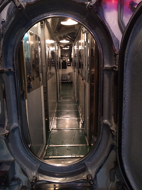 Submarine companionway