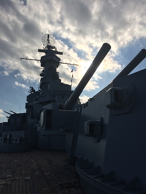 The USS Alabama @ Mobile, AL