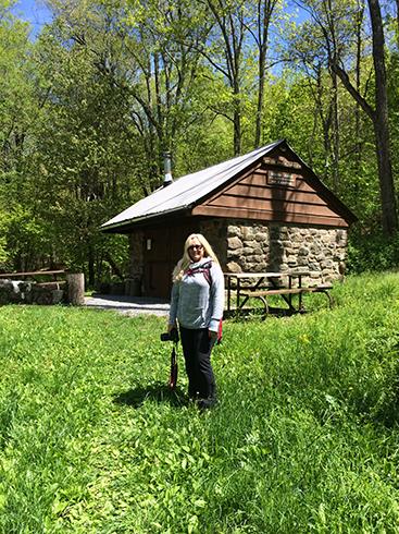 Sandy on the Appalachian Trail